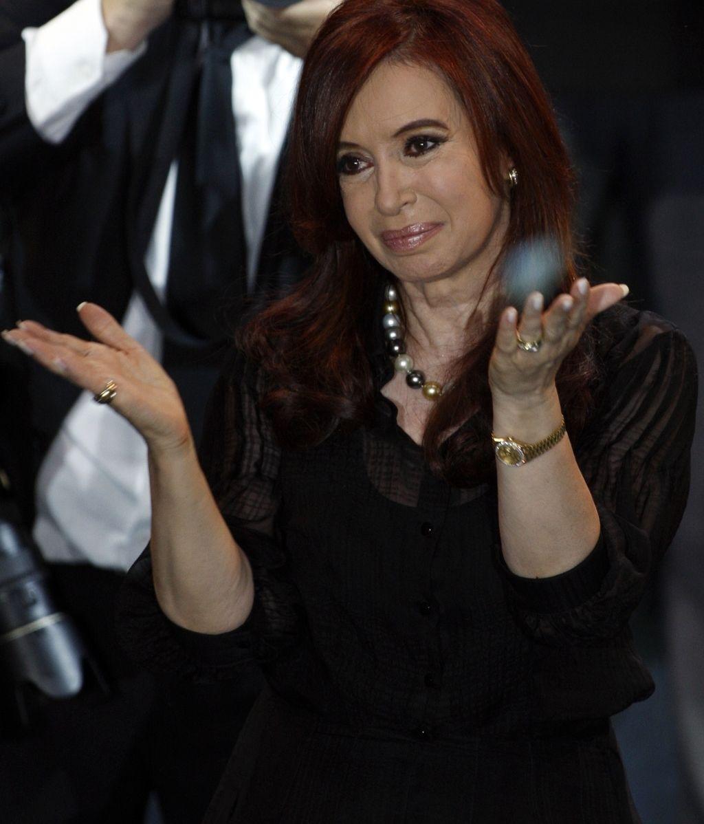 Cristina Fernández de Kirtchner, candidata en las elecciones argentinas