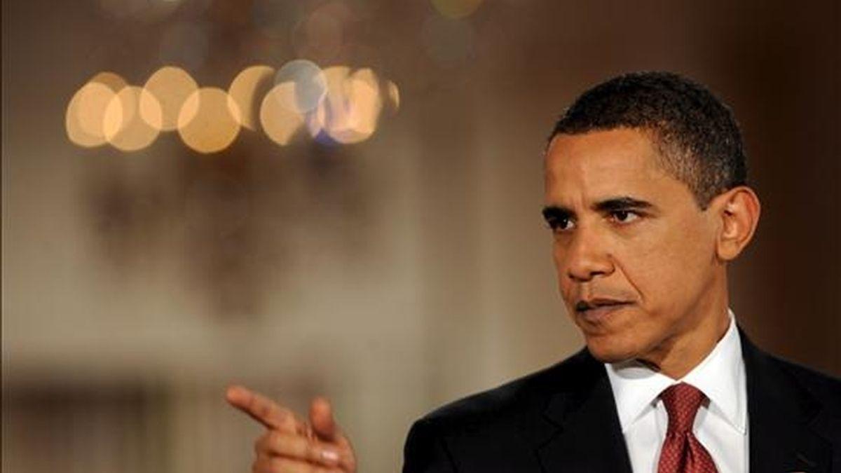 La asistencia del presidente de EE.UU., Barack Obama, al evento sobre el cambio climático, que se espera que reúna en la capital danesa a 65 líderes mundiales, no estaba clara hasta ahora. EFE/Archivo