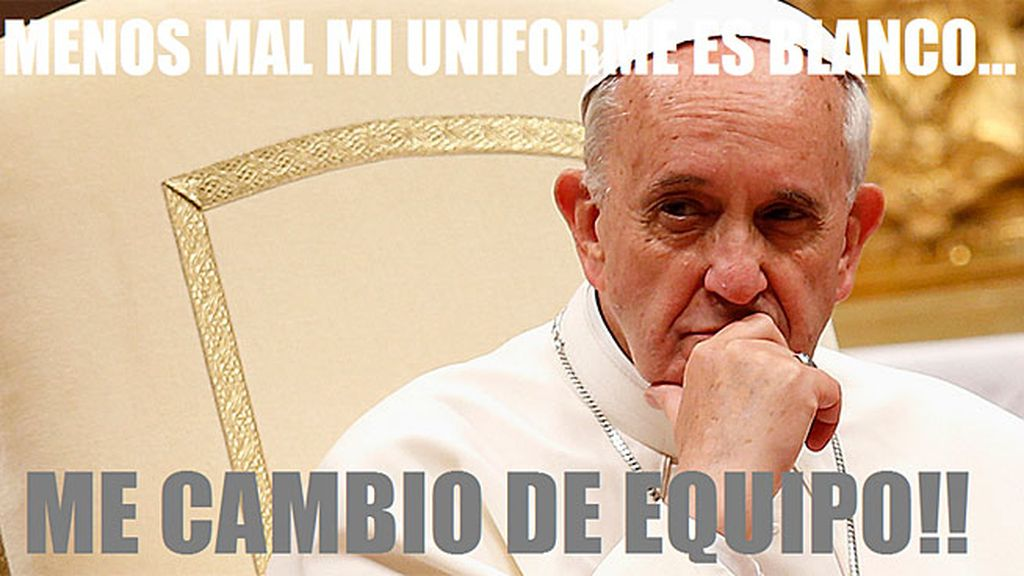 Papa Francisco Real Madrid