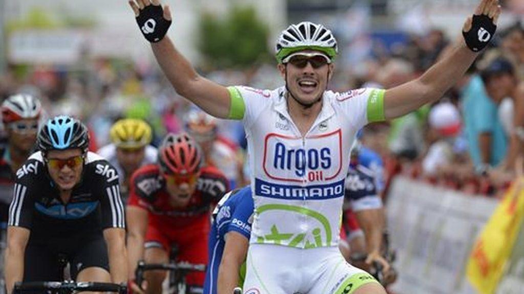 El ciclista alemán John Degenkolb (Argos) se ha impuesto al sprint en la quinta etapa de la 67ª edición de La Vuelta a España