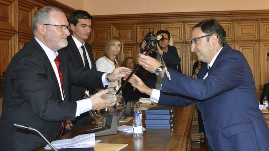 Alfosno Polanco del Partido Popular, nuevo alcalde de Palencia