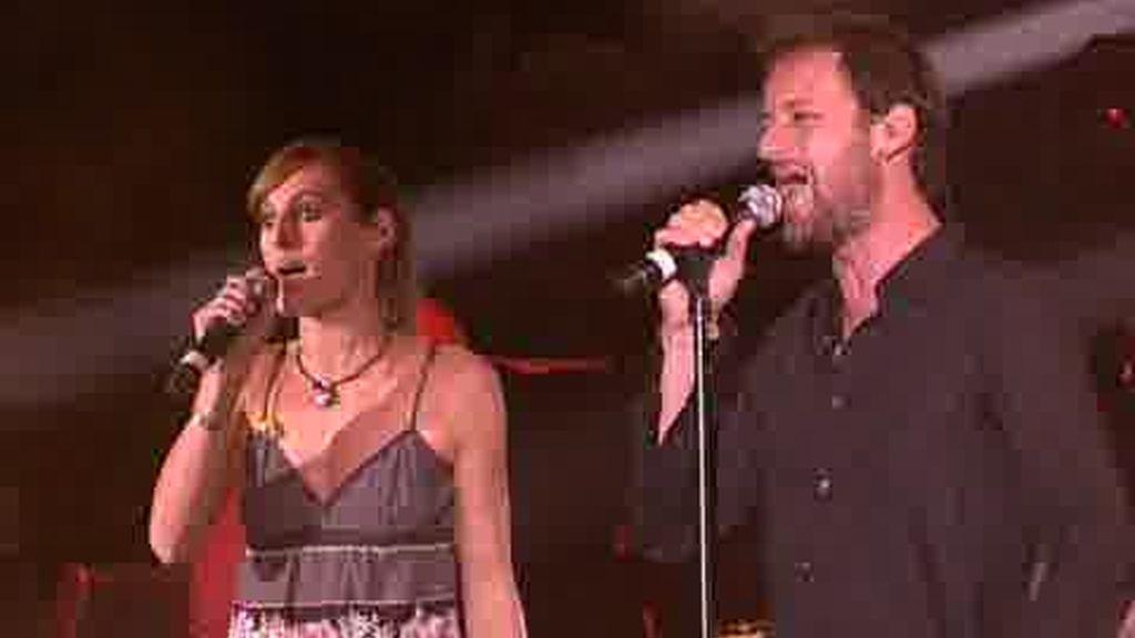 AVANCE EXCLUSIVO: Fragmento de la actuación de Conchita y Edu Soto en el concierto por el Sáhara