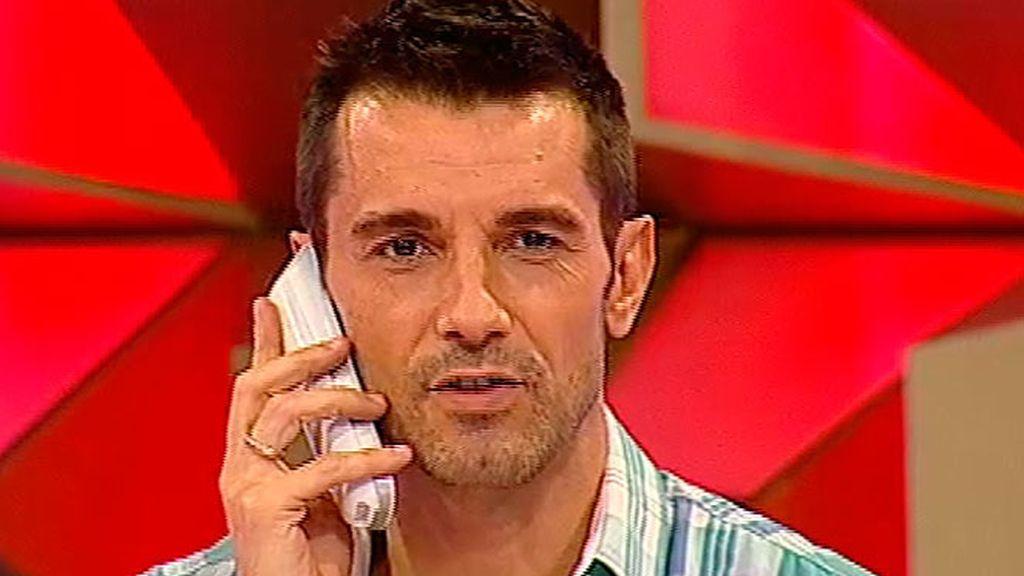 Jesús Vázquez habla con la banca