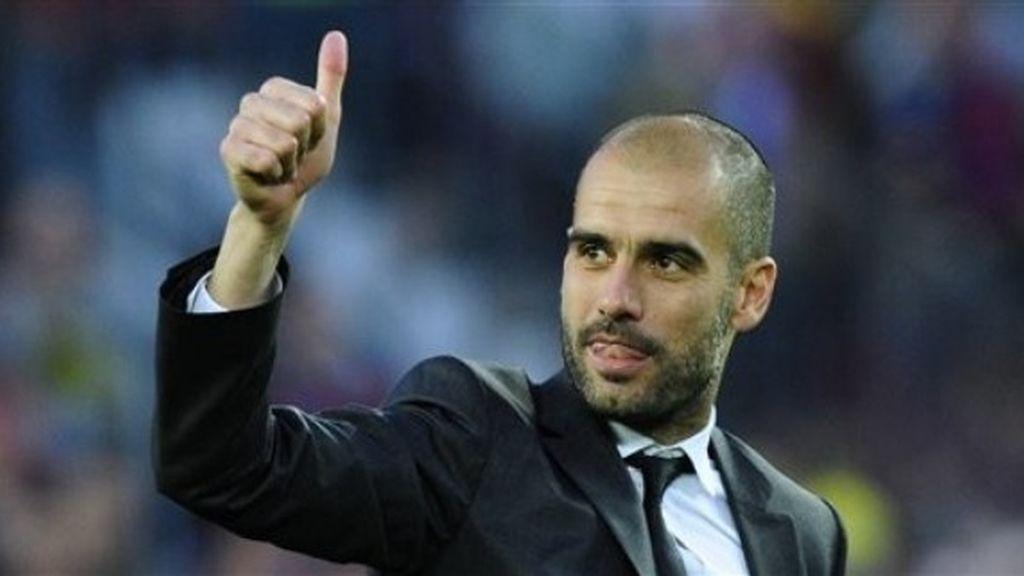 #GraciasPep, una despedida multitudinaria al antiguo entrenador del Barça
