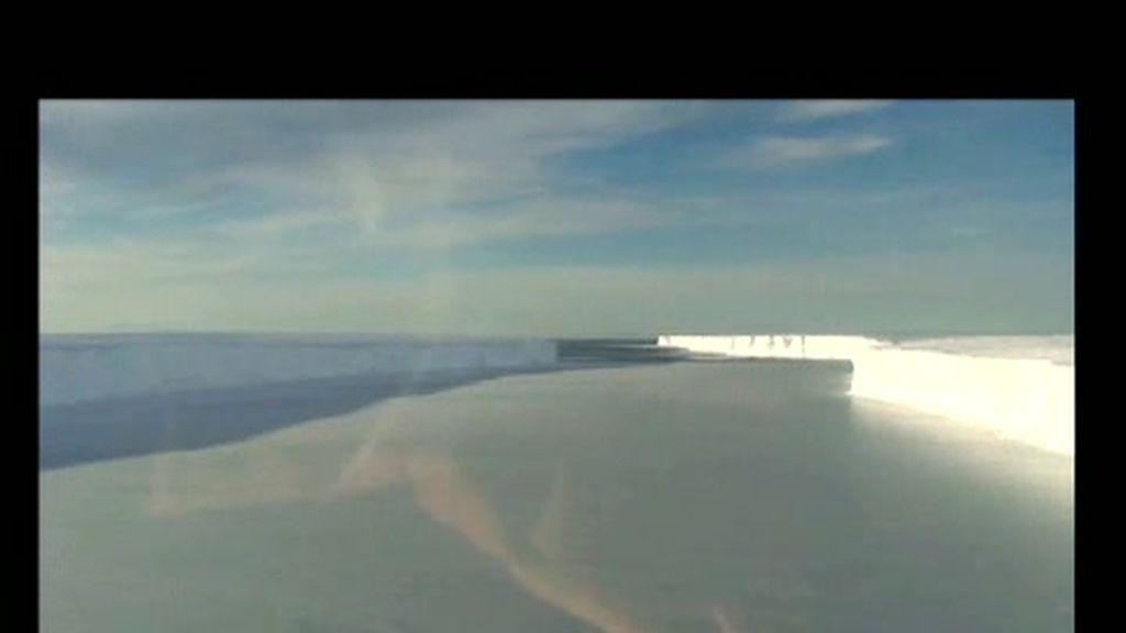 Un glaciar del tamaño de Luxemburgo