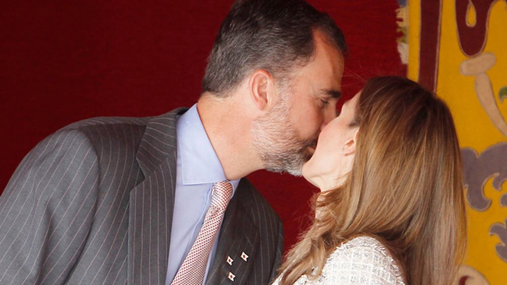 Principe Felipe y Doña Letizia