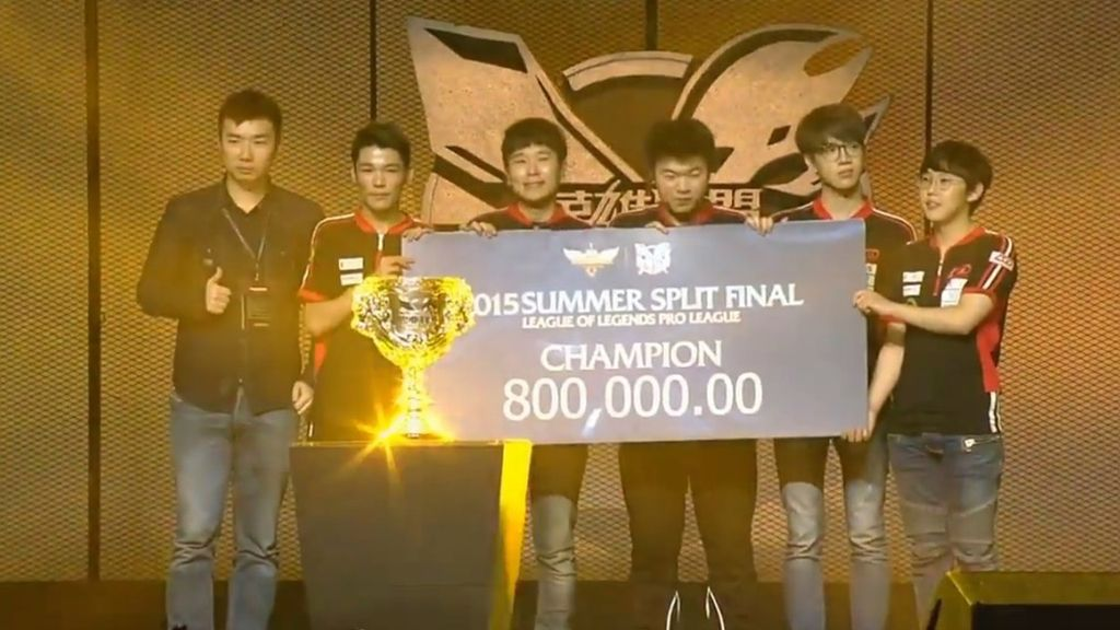 El gigante chino también tiene a su campeón de League of Legends  (LPL)