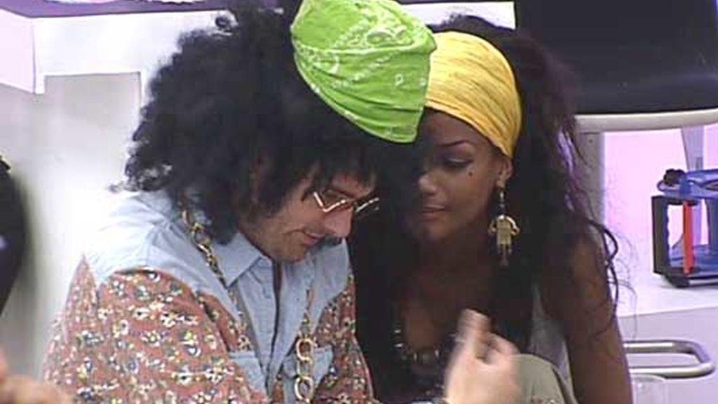 Orlando y Liz, ¿bailando lambada?