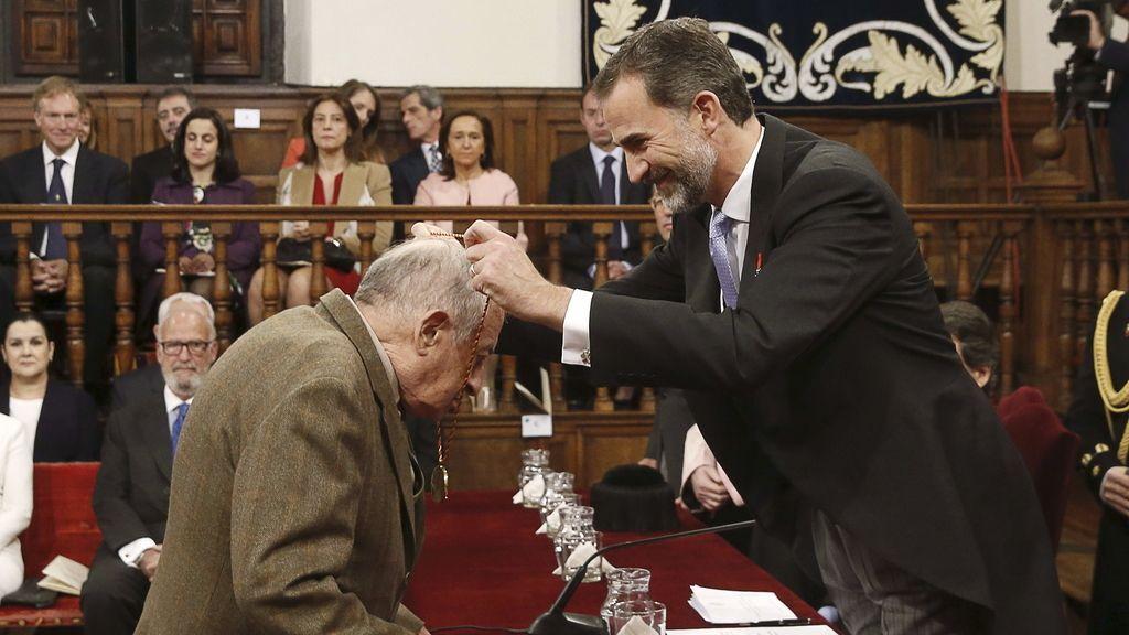 Juan Goytisolo recibe el premio Cervantes