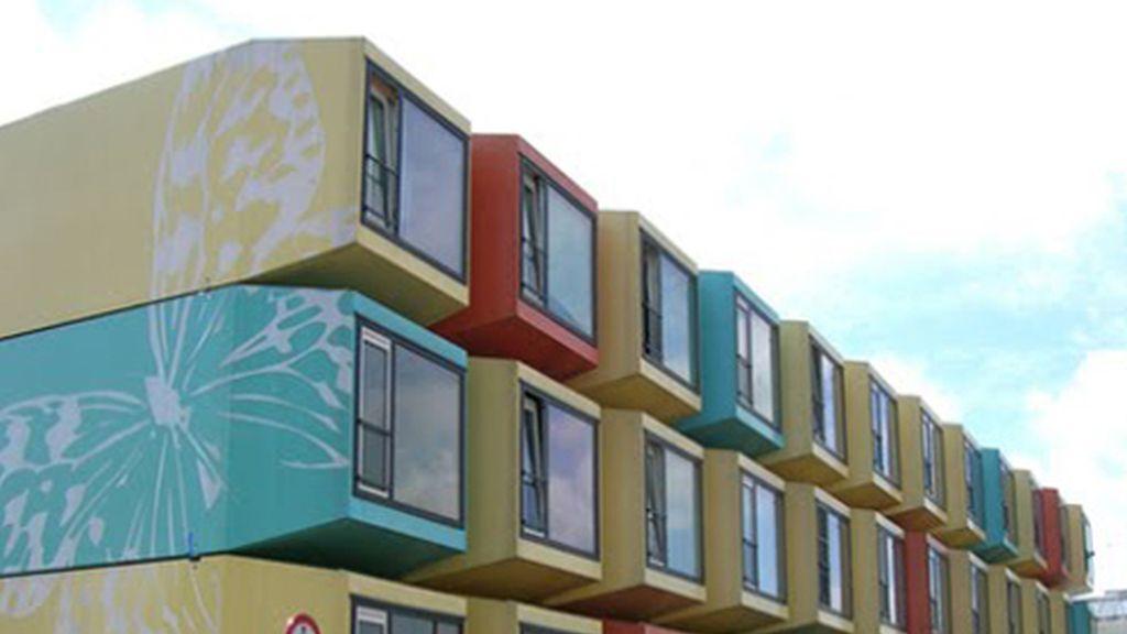 Módulos de vivienda verticales