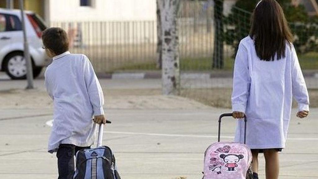Un tercio de los niños españoles en riesgo de pobreza