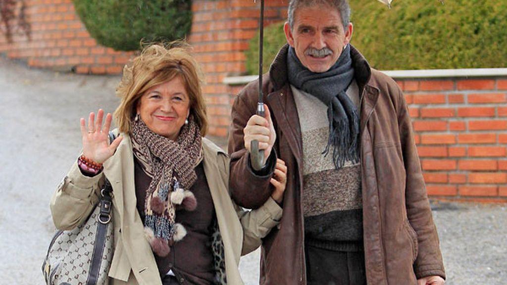Los padres de Casillas, felices y sonrientes