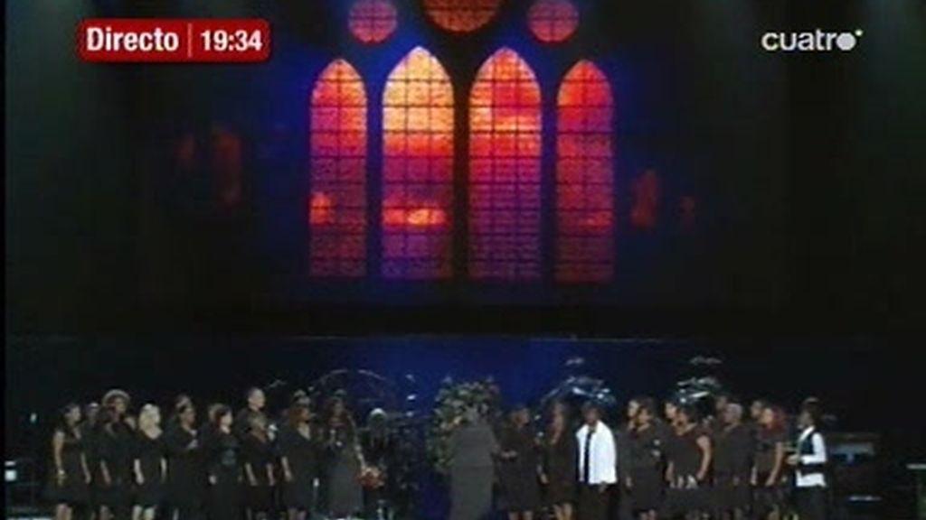 Despedida a Michael Jackson: Emocionante entrada del féretro al Staples Center