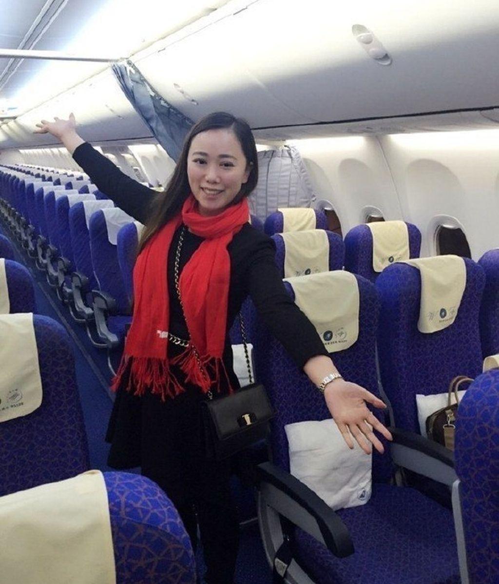 Viaja en un avión vacío