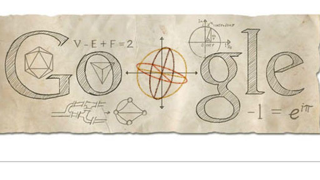 doodle google,doodle Leonhard Euler