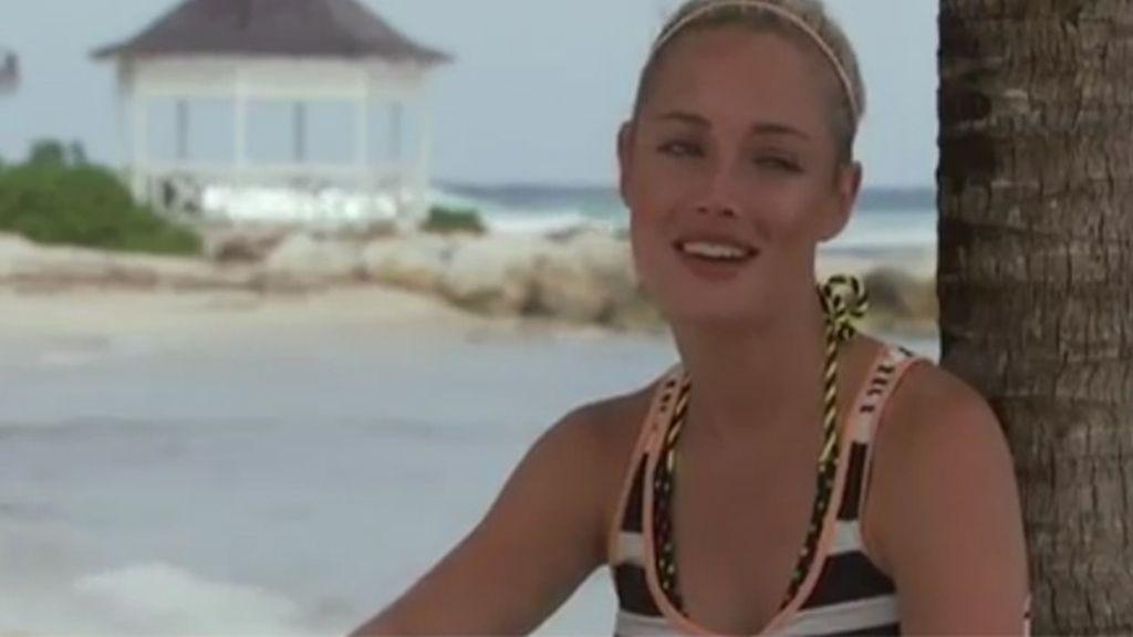 La modelo en 'Tropika Isla del Tesoro'