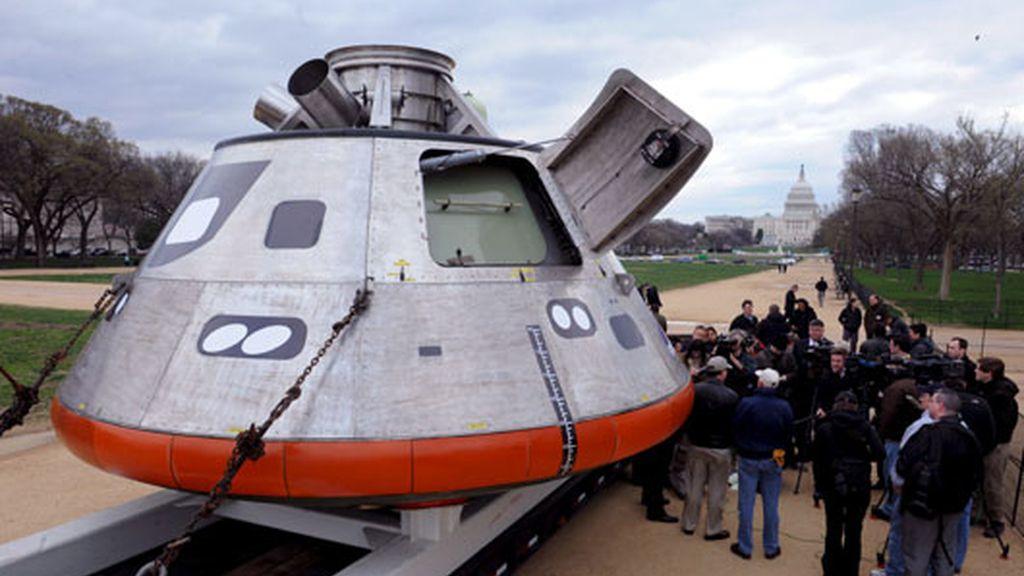 La NASA presenta una  nave para volver a la Luna