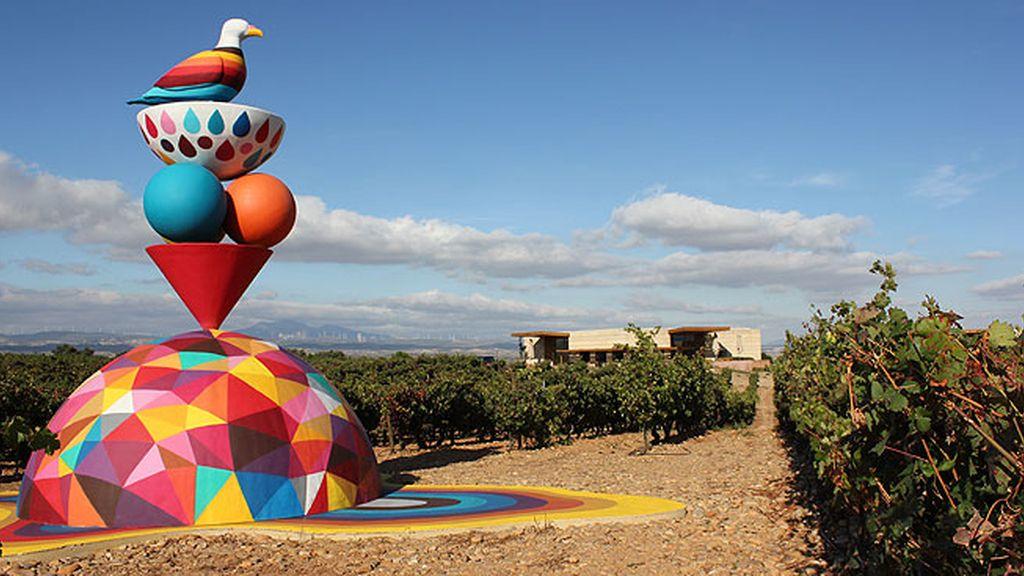 Campo Viejo con el arte urbano