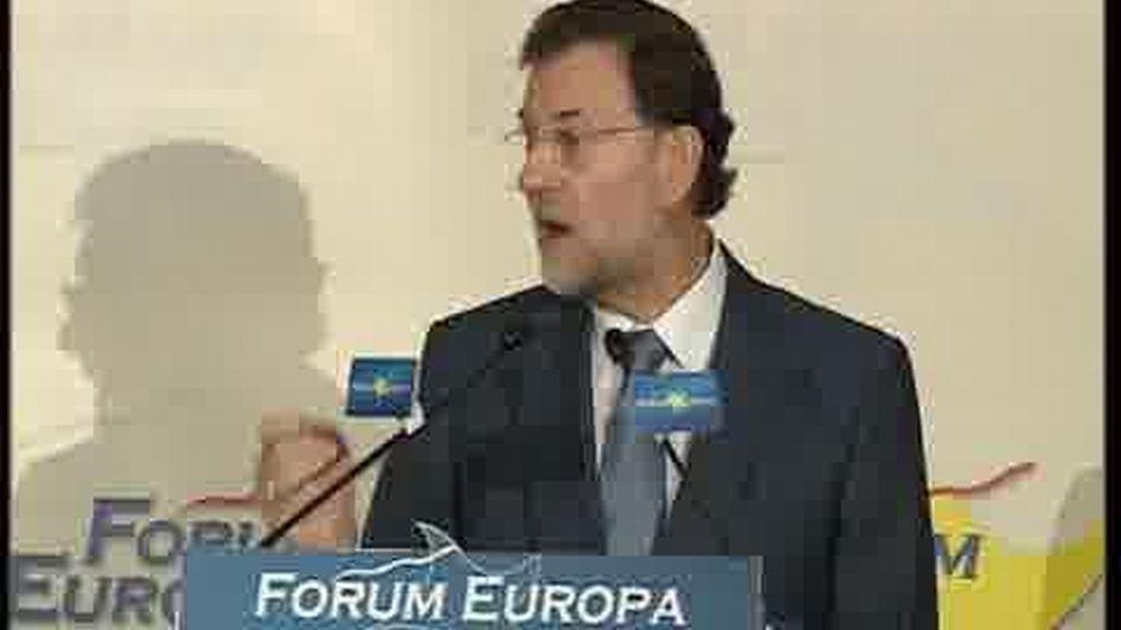 Rajoy: fracasan los sindicatos y fracasa el Gobierno
