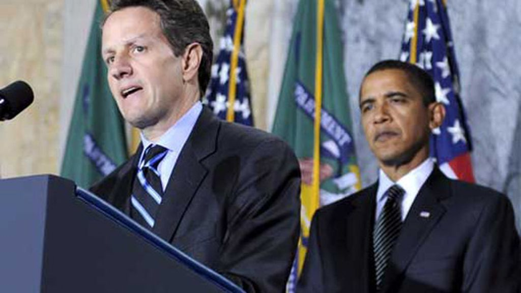 Obama logra el 'sí' a Geithner como secretario del Tesoro