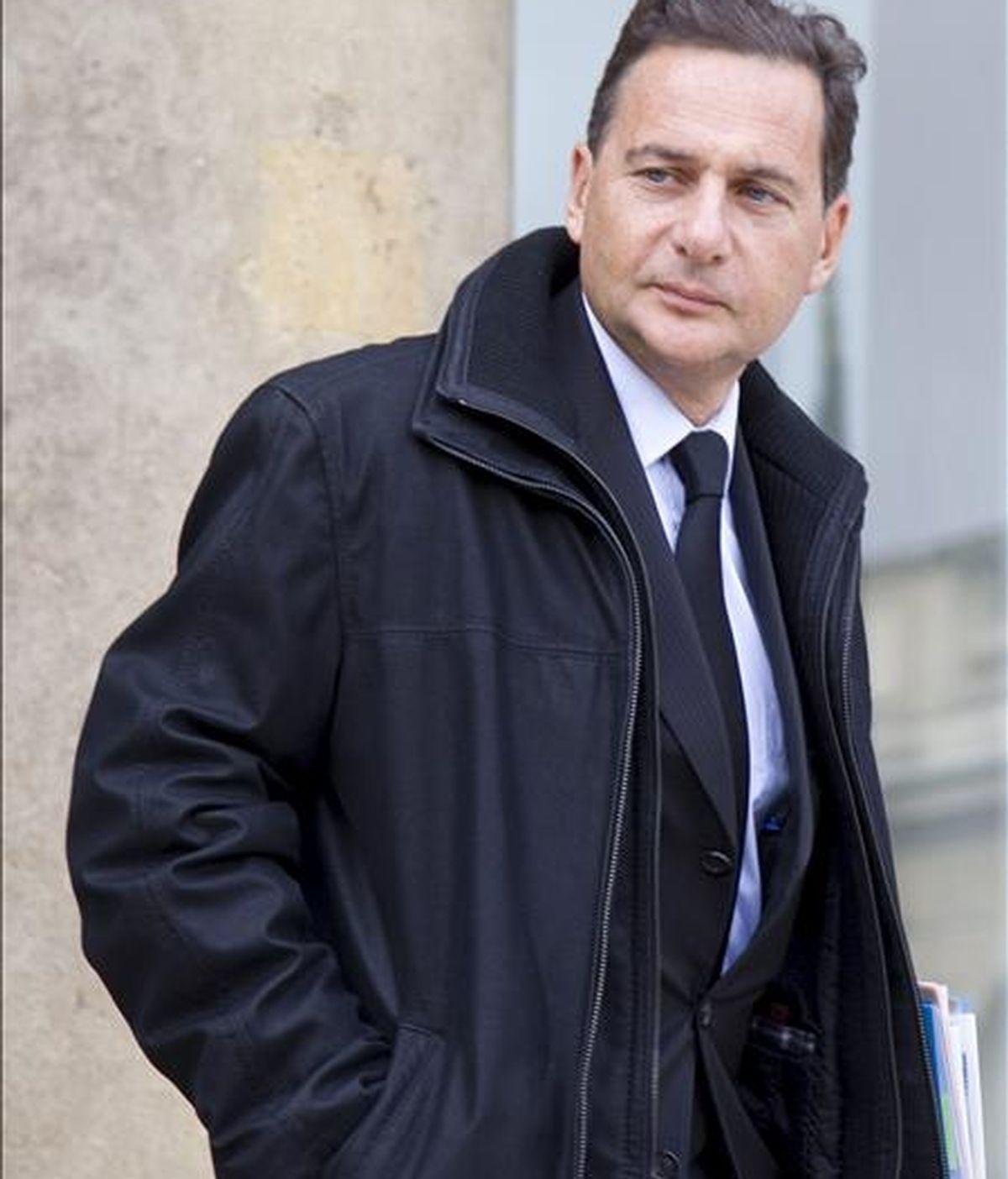 En la imagen, el ministro de Industria, Éric Besson. EFE/Archivo