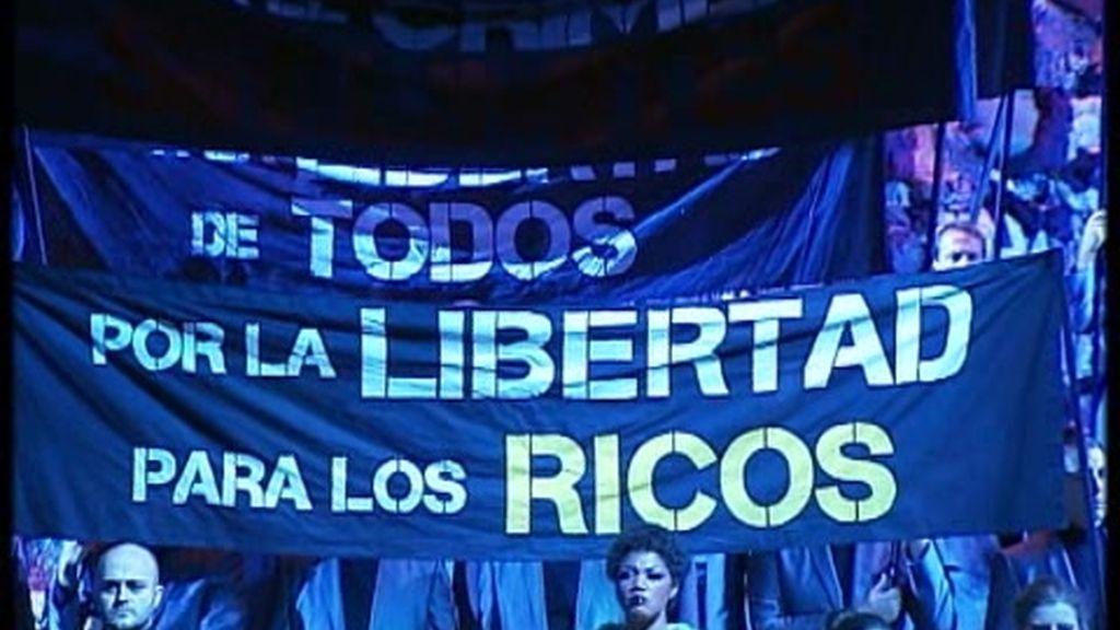 29-S: la huelga llega hasta el Teatro Real