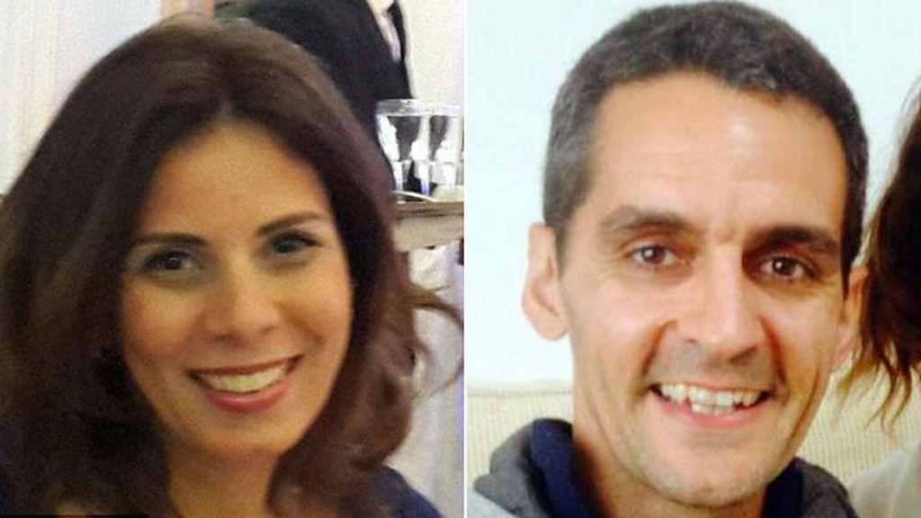 Marwa Hamdy y Richard Osman, pasajeros del avión de EgyptAir