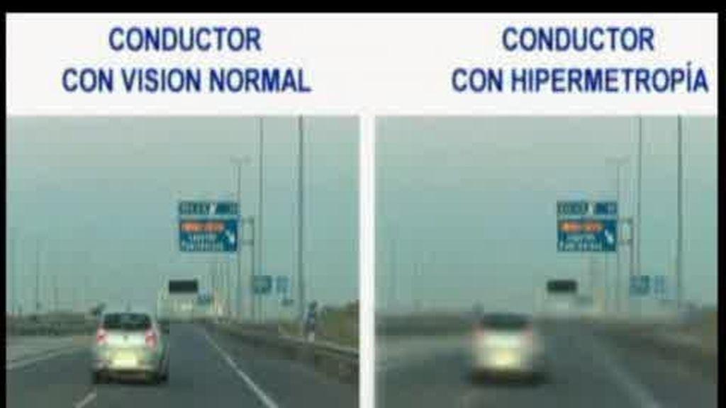 Mala visión al volante