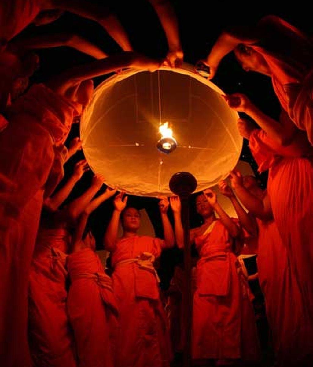 Festival en Tailandia