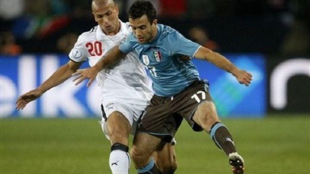 Egipto-Italia, en imágenes