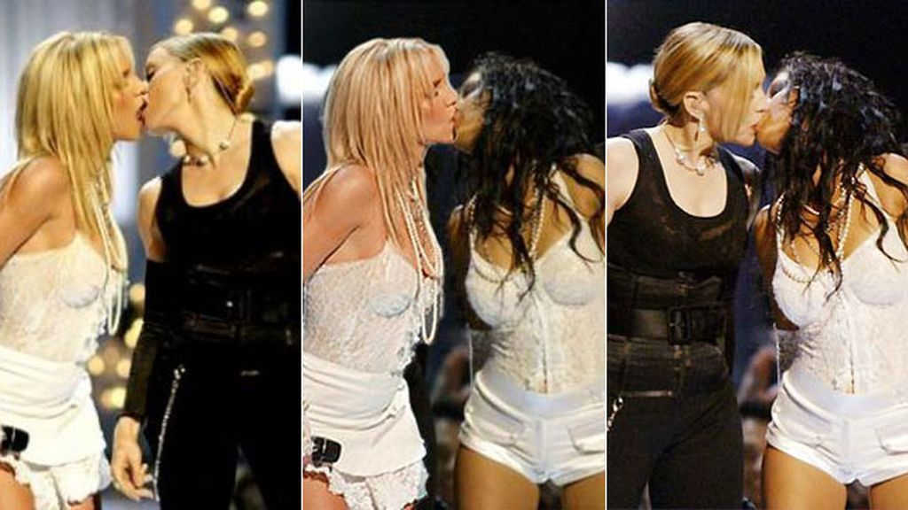 Beso lésbico, todo un clásico