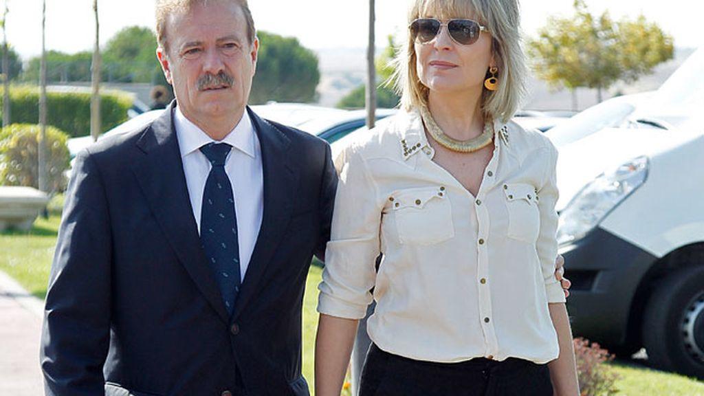 Manuel Campo Vidal y María Rey
