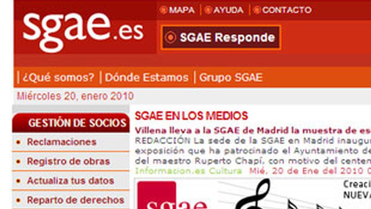 La SGAE es una de las ocho entidades de gestión de derechos de autor existentes en España. Foto: SGAE.