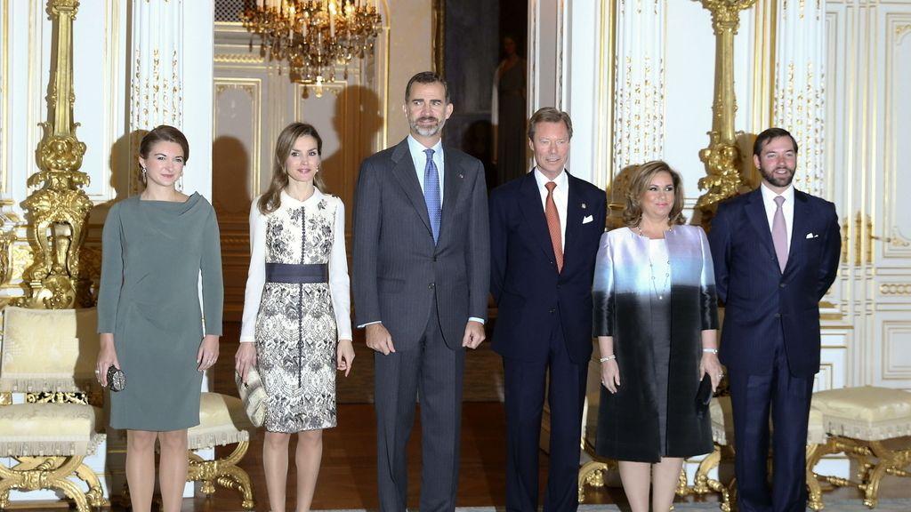 Los reyes de viaje oficial a Luxemburgo