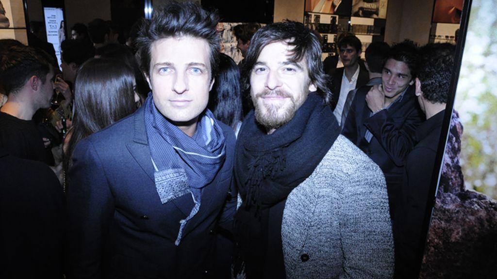 Los actores Jesús Olmedo y Alfonso Bassave