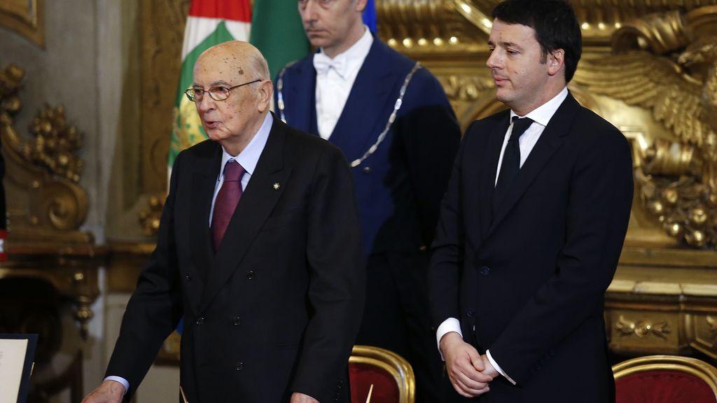 Renzi, investido primer ministro de Italia