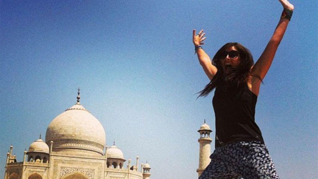 turista británica, Katy Colins