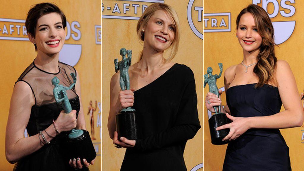 Claire Danes resultó galardonada por su papel en 'Homeland'