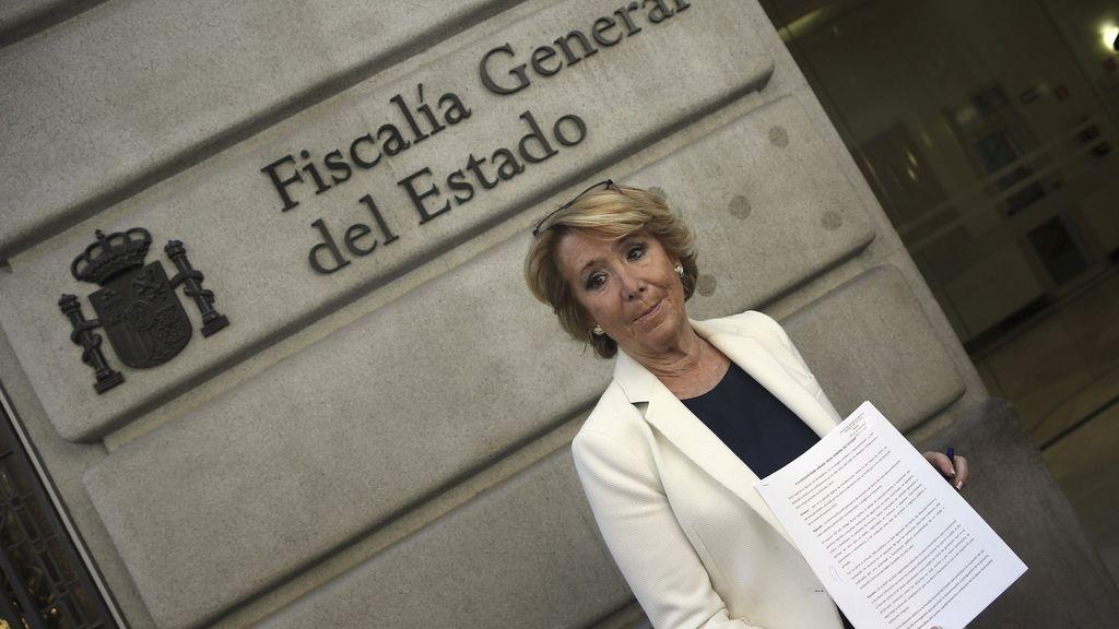 Esperanza Aguirre, candidata del PP en las elecciones de 24 de mayo