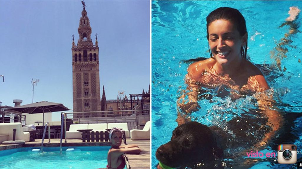 Noelia López, de piscina en piscina y tiro porque me toca