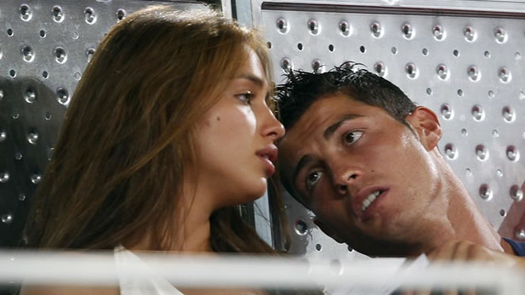Cristiano le hace ojitos a Irina Shayk