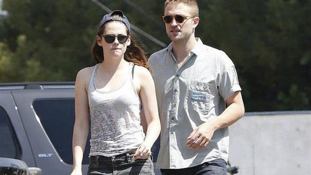 Robert Pattinson y Kristen Stweart pasan el día juntos