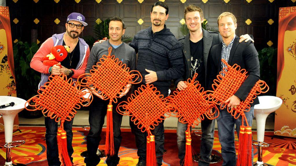 Los integrantes de 'Backstreet boys' presentaron su próxima gira asíatica