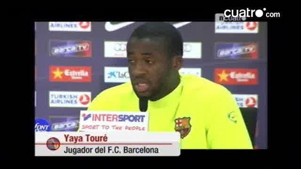 Las primeras declaraciones, en catalán, Touré Yayá