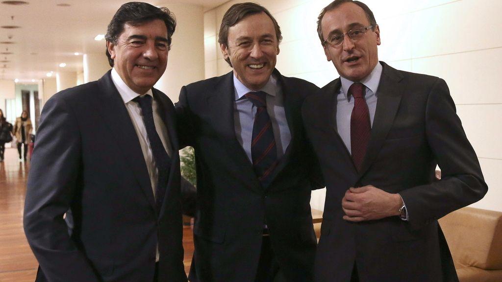 Bermúdez de Castro, Rafael Hernando y Alfonso Alonso