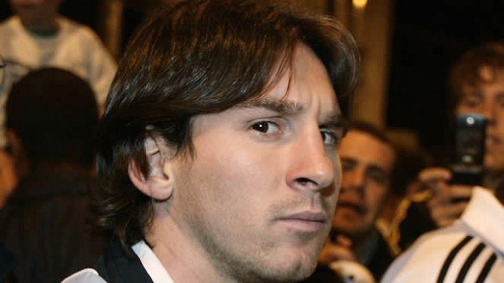 Messi, ¿está triste?
