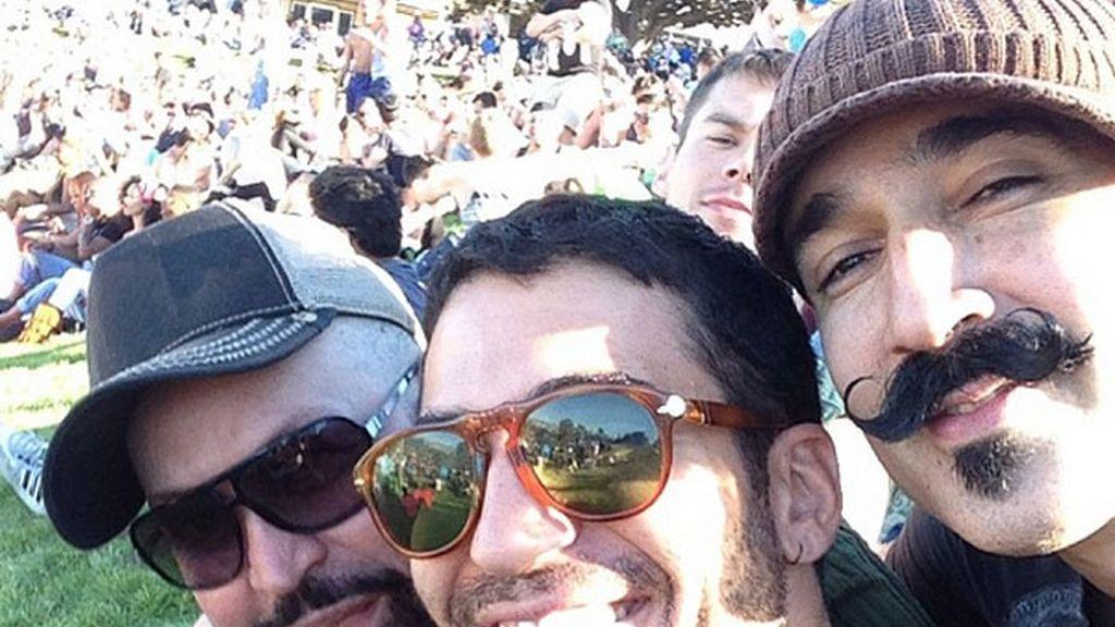 Miguel Ángel Silvestre, #gayprade en San Francisco