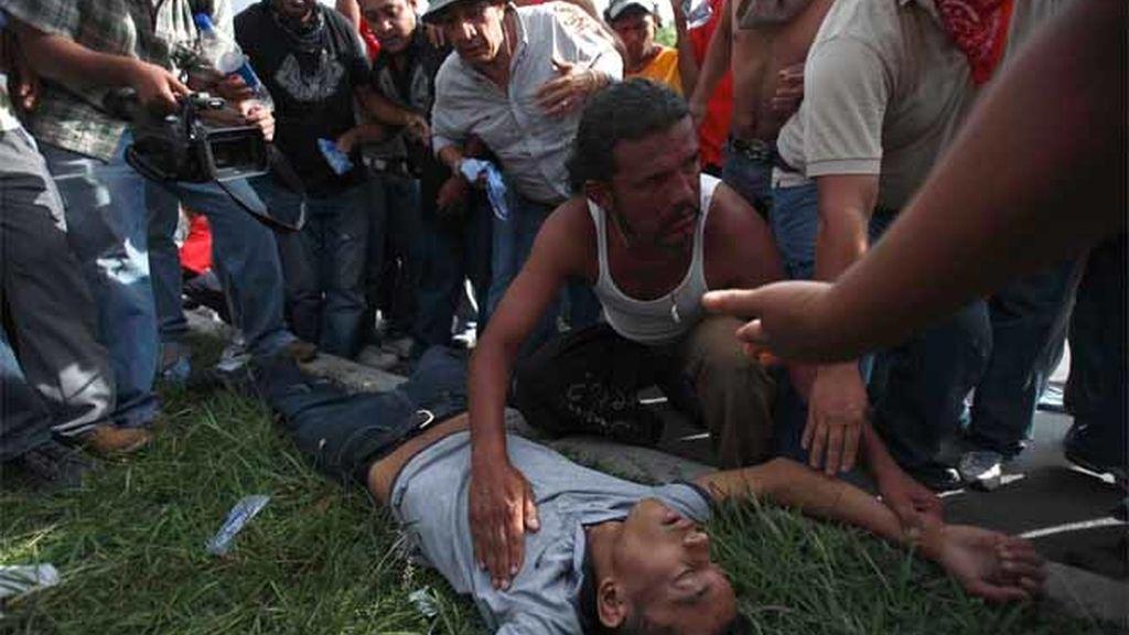 Heridos en Honduras