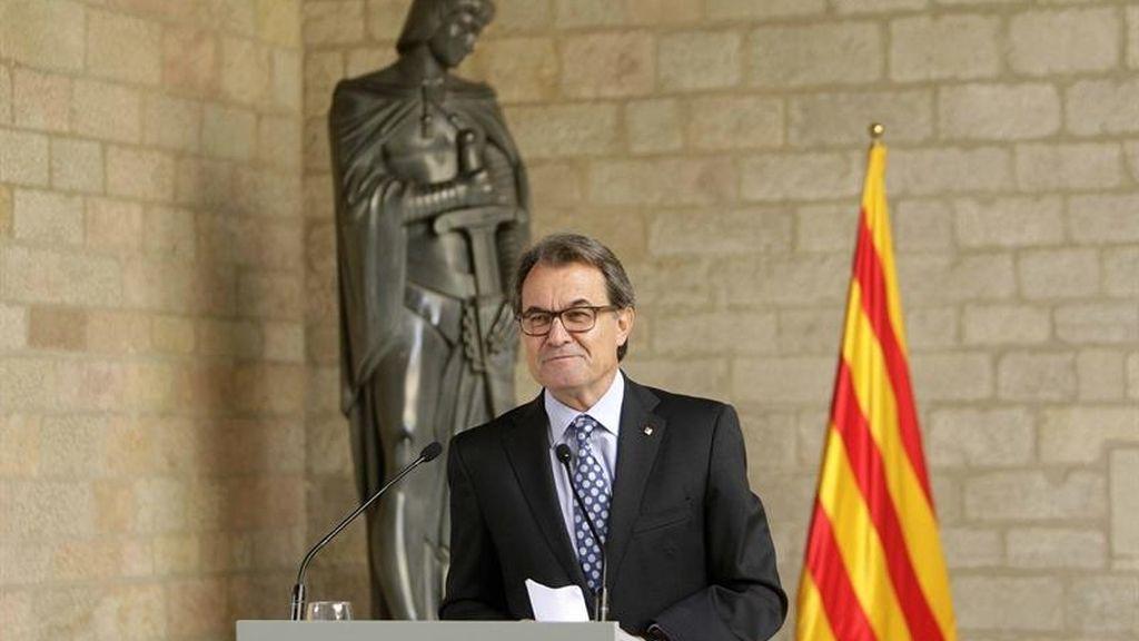 Artur Mas, president de la Generalitat