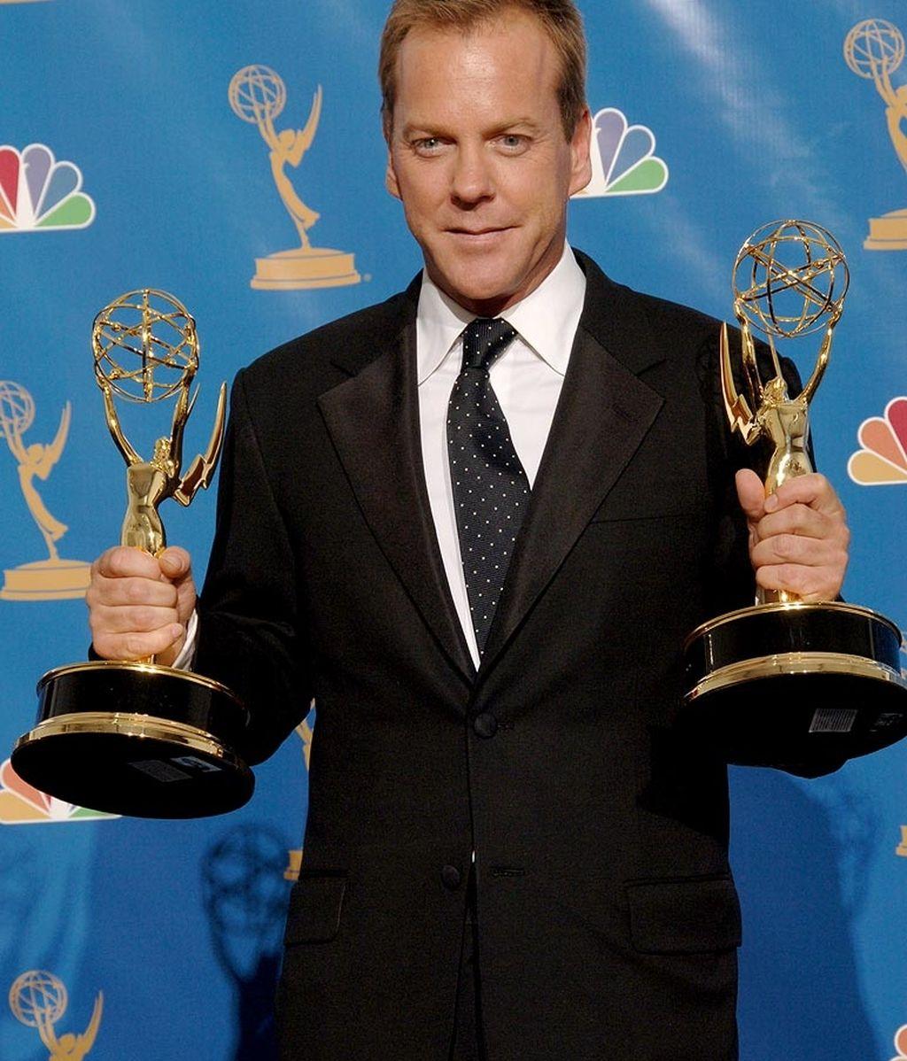 Kiefer Sutherland en los Premios Emmy